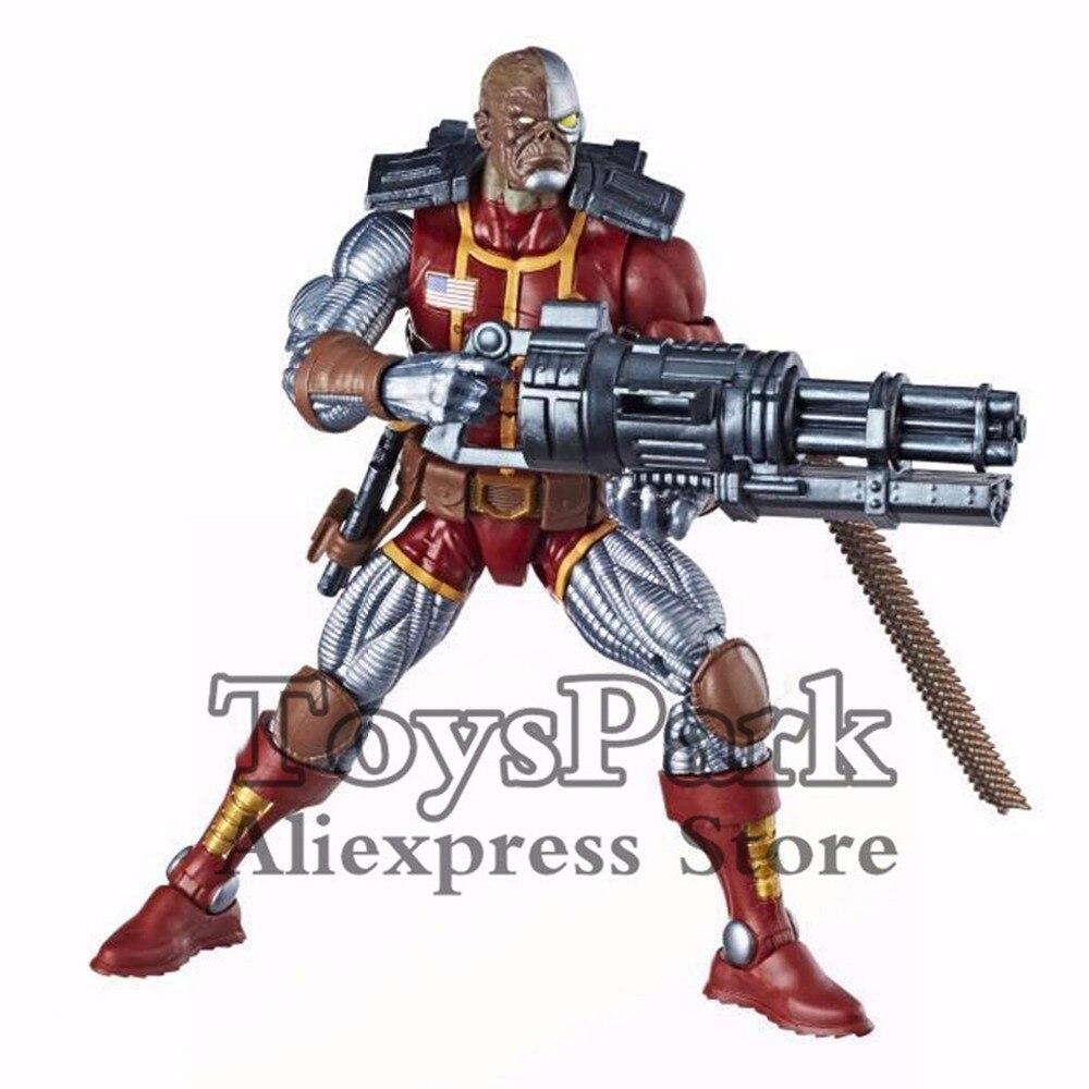 """Nouveau Hasbro Marvel Legends Deathlok 6/"""" Figurine Deadpool X-Men Wave Sasquatch BAF"""