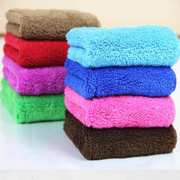 La caída de agua toalla extrafina de la fibra de madera paño de ...