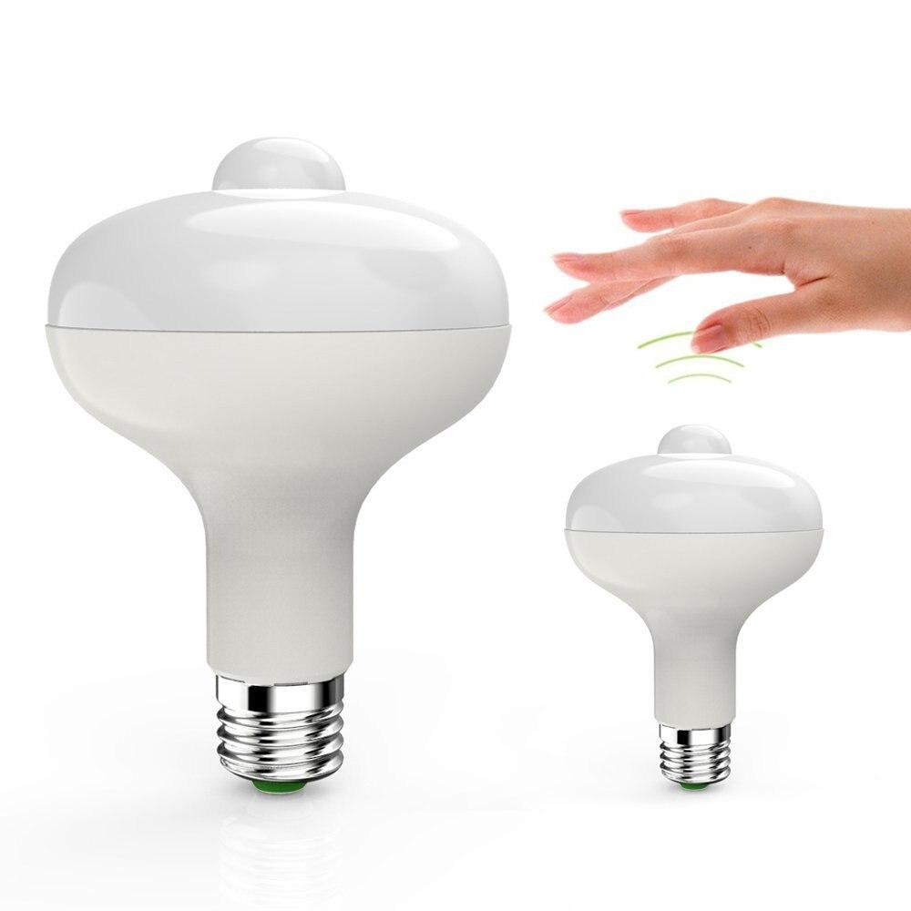 Sensor Light Bulbs Outdoor: 9W Motion Sensor Light Bulb LED Infrared Motion Detection Sensor Light PIR  Indoor/Outdoor Lighting,Lighting