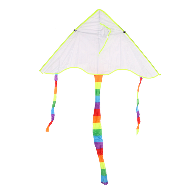 DIY Graffiti Kite Painting Nylon Ripstops Kite without Handle Line Outdoor Flying Papalote Toys 5*47*120cm