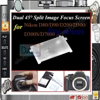 Dual 45 degree Split Image Focus Focusing Screen for Nikon D80/D90/D200/D300/D300S/D7000/D7100/D7200 PR126