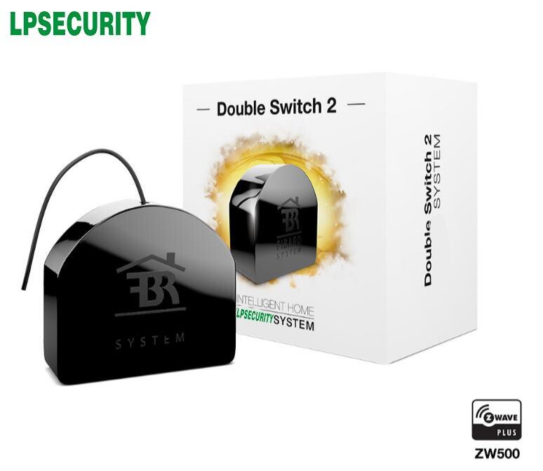 Fibaro Wireless Z Wave 500 Double Relay Switch 2 Fgs 223