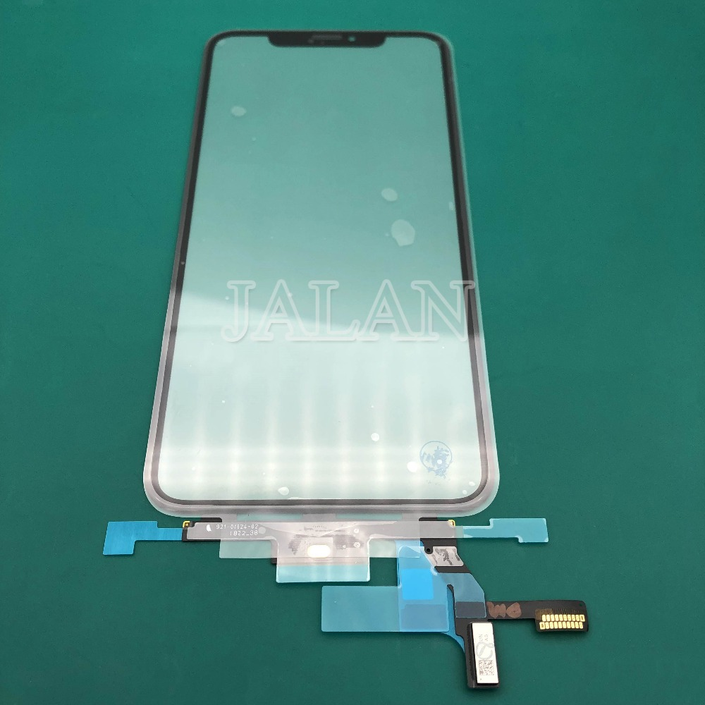 original quality display screen For iPhone x/xs/xs max/xr touch screen front out glass panel with flex cable LCD laminating