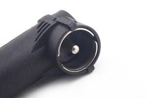 Image 4 - Adaptateur dantenne stéréo pour voiture, Radio antenne DIN vers coque en plastique ISO