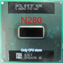 N280 SLGL9 процессор Intel Atom N280 N 280 512K кэш, 1,66 ГГц, 667 МГц FSB BGA cpu для ноутбука
