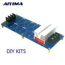 Aiyima 50A Grand Courant 500 W Amplificateur Double Alimentation Redresseur Filtre Conseil HIFI DIY Kits
