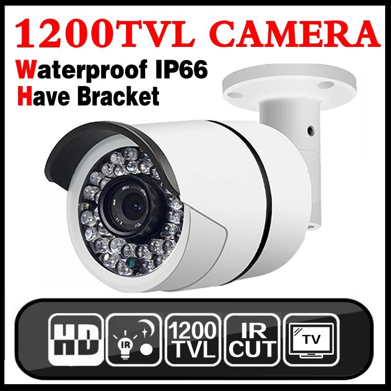 11.11biggest Sale!Cmos 1200TVL Hd Cctv Camera Outdoor Waterproof ip66 IRCUT 36Led Night Vision Video monitoring security vidicon