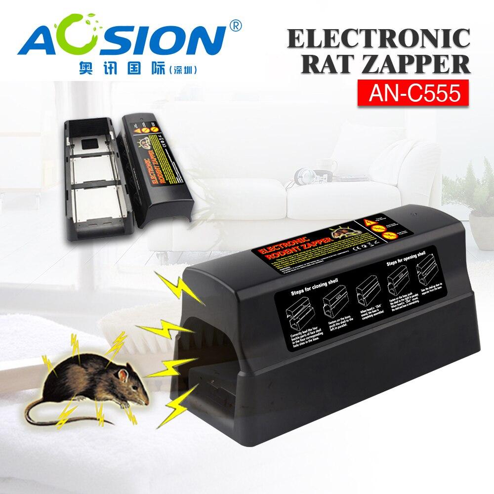 Tueur électronique de rongeur de souris de piège de Rat de livraison gratuite avec le choc électrique à haute tension