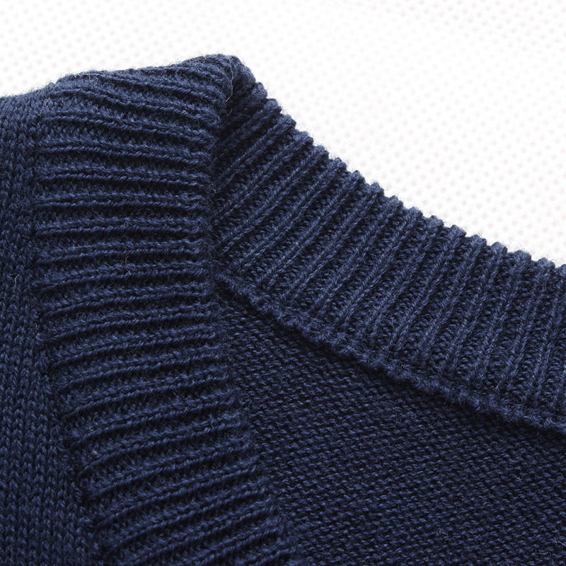 2020 Autumn Winter Brand New Men Casual Sweatshirt Man Knitted Clothes Slim Long Sleeve Spring Striped Sweatshirts Tops 4