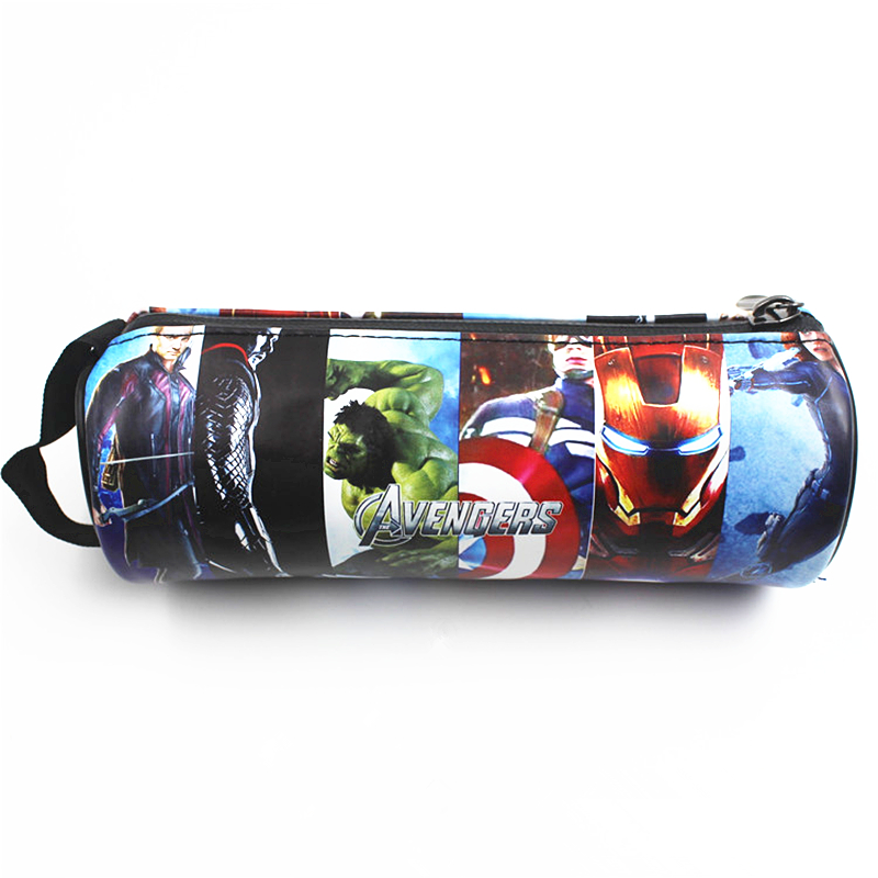 MARVEL The Avengers Wallet Monederos Coin Purse Men Wallets Carteira Zipper Bag Purse Pencil Pen Case Cases Pouch gyd 2016 new silicone coin purse monederos pouch case change animal purse patterns o bag rectangle silicon bag gyd0006