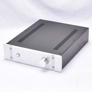 Image 2 - KYYSLB 260*70*311MM DIY Box 2607B All Aluminum Amplifier Chassis Case Preamplifier Chassis Amp Enclosure Housing with Louvers