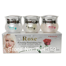 whitening cream for face wholesale FEIQUE Rose refining nour