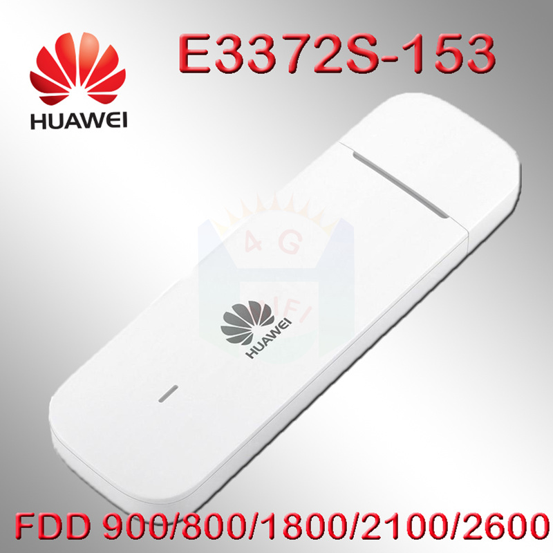 Unlocked E3372s-153 Huawei E3372 4G LTE USB Dongle USB Stick Data card with SIM card slot 4g dongle android huawei modem e3372 unlocked huawei e3372 e3372s 153 150mpbs 4g lte usb dongle 4g lte antenna 35dbi crc9 for e3372 4g lte fdd modem
