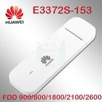 Unlocked E3372s 153 Huawei E3372 4G LTE USB Dongle USB Stick Data card with SIM card slot 4g dongle android huawei modem e3372