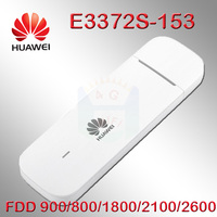 Unlocked E3372s 153 Huawei E3372 4G LTE USB Dongle USB Stick Data card with SIM card slot 4g dongle android huawei modem e3372