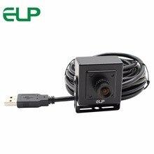 ELP 8MP sony IMX179 MJPEG YUY2 UVC высокоскоростной usb 2,0 камера с мини-корпусом и без искажений объектива для Android Linux, Windows, Mac