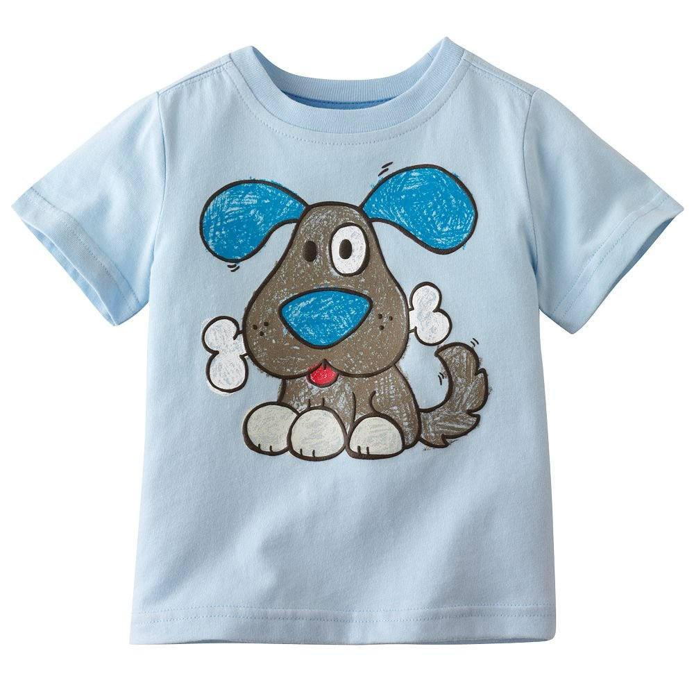 boy's tees shirts dog tshirts blouses tank tops jumpers jersey singlets baby short sleeve t-shirts kids sweatshirt outfit LM987