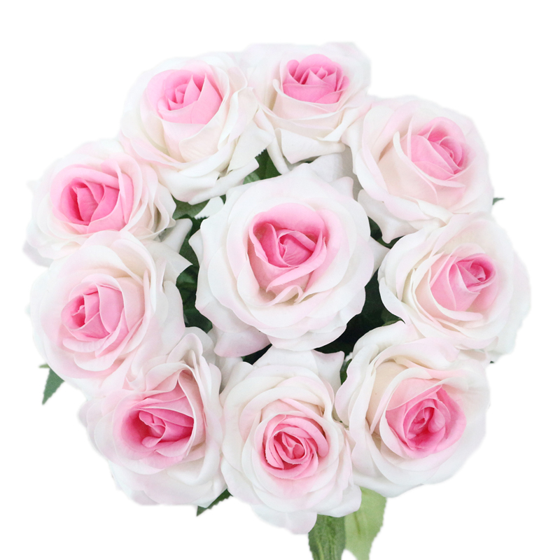 JAROWN Artificial Real Touch Hand Feel Rose Latex Flowers For Valentine`s Day Preparation Wedding Decoration Home Decor (11)