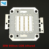 30W Infrared night vision Infrared COB LED 30pcs 40mil chips High power 850nm array infrared lamp IR LED Use for thermometer