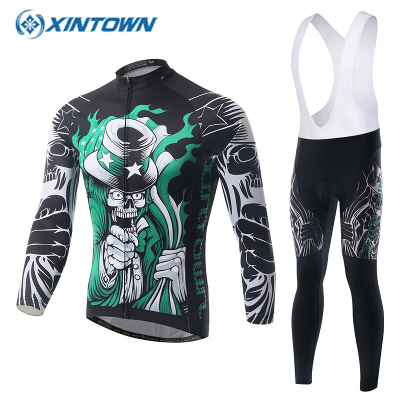 2018 Pro Team Cycling Jersey Sets Long Sleeve Breathable 3D Padded Sportswear Cycling Clothing Set MTB Bicycle Bike Apparel 2018 Pro Team Cycling Jersey Sets Long Sleeve Breathable 3D Padded Sportswear Cycling Clothing Set MTB Bicycle Bike Apparel
