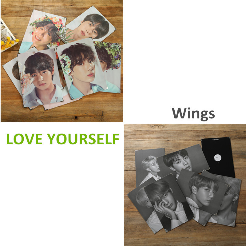 Novelty & Special Use Costume Props The Final Bts World Tour Love Yourself Speak Wings Photo Frame Same Paragraph Concert Picture Bangtan Boys Jimin J-hope Suga V Excellent Quality