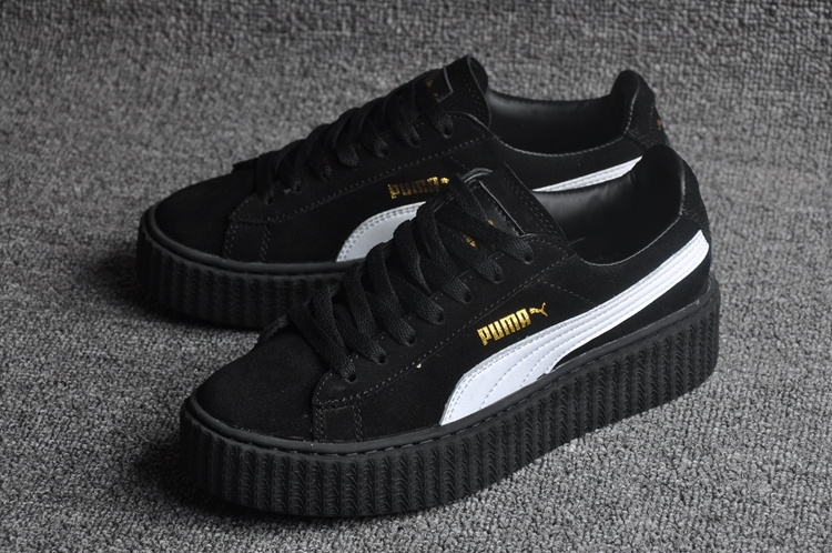 New arrive Puma by Rihanna Suede Creepers women s and men shoes Breathable  Badminton Shoes Sneakers size 36 44 купить на AliExpress 4c3c60912d8