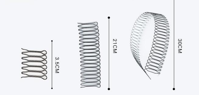 & Styling Tools Acessórios de Cabelo HA010