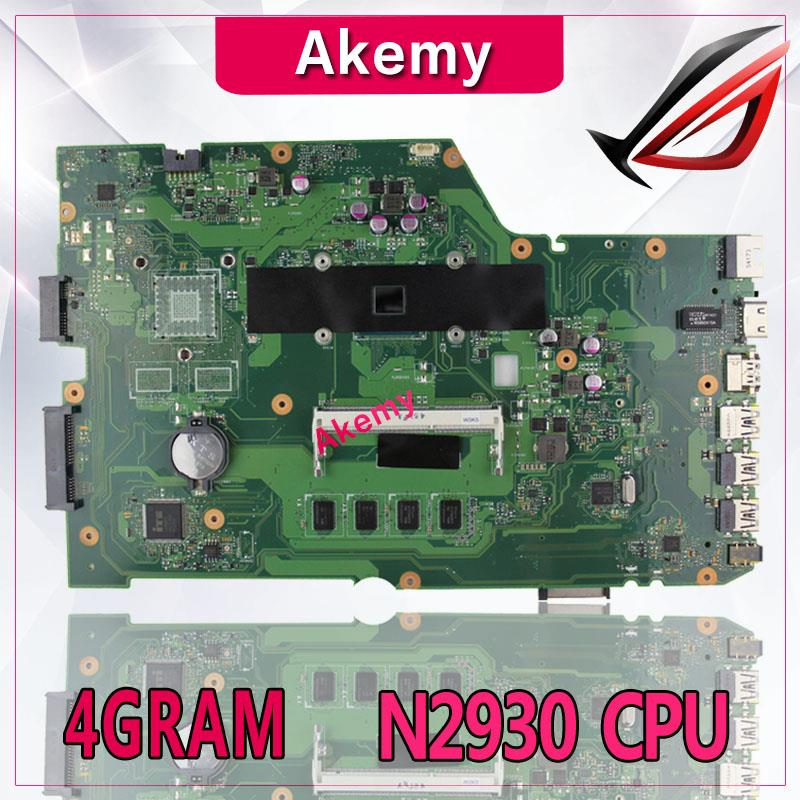 Akemy X751MA Laptop motherboard for ASUS X751MA X751M X751 Test original mainboard 4G RAM N2930 CPU|Motherboards| |  - title=