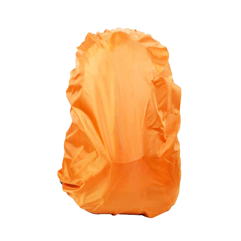 New Arrivals Outdoor Sports Survival Camping Hiking Backpack Rucksack Bag Waterproof Rain-proof Orange Cover Accessories