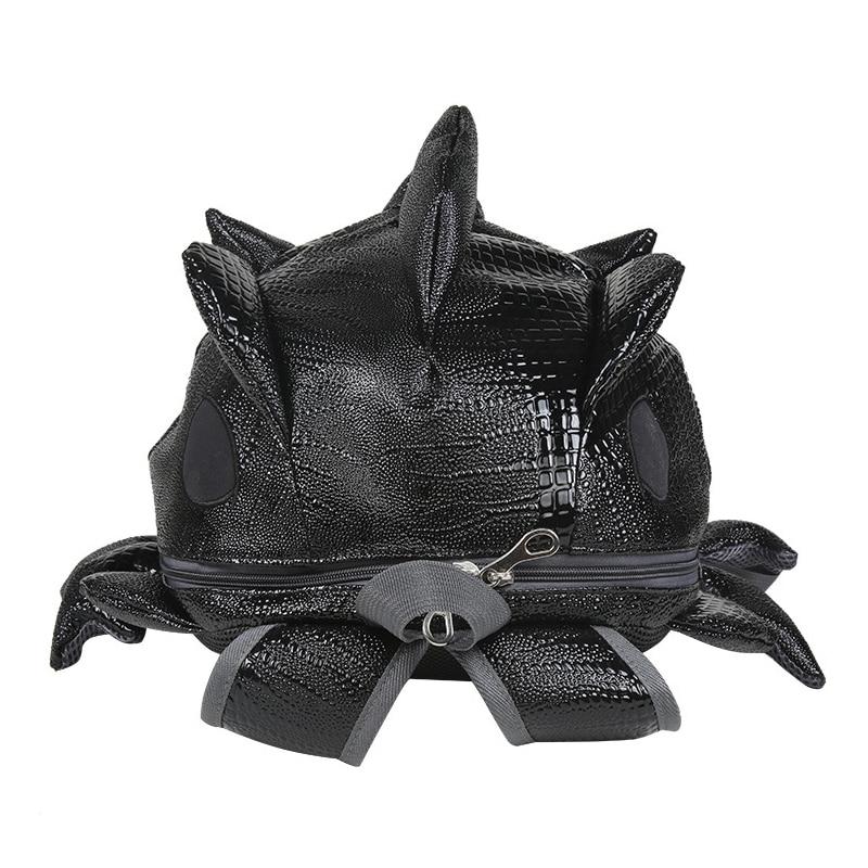 Ipinee 3d Chameleon Backpack Male Special Monsters Backpack Harajuku Lizard Travel Bags Cartoon Rucksack Shoulder School Bag #2