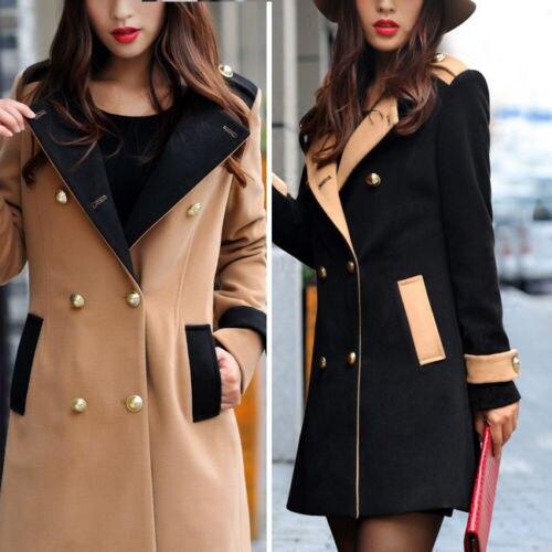 Girls Black Trench Coat | Down Coat