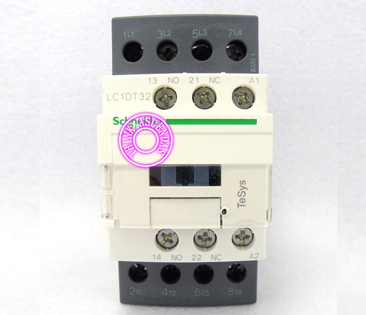 LC1D Contactor LC1DT32 LC1DT32JDC 12V / LC1DT32KDC 100V / LC1DT32LDC 200V / LC1DT32MDC 220V / LC1DT32NDC 60V/ LC1DT32PDC 155V DC sayoon dc 12v contactor czwt150a contactor with switching phase small volume large load capacity long service life