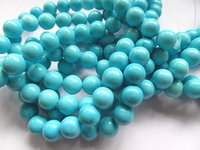 wholesale 8mm 5strands turquoise beads round ball green pink hot red blue oranger black mixed jewelry beads