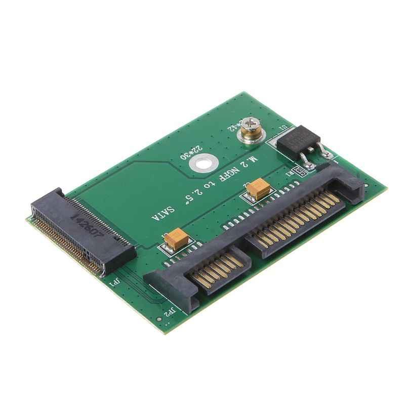 Nuovo NGFF M.2 SSD SATA 3.0 Solid State Drive Per L'interfaccia SATA Convertitore Dell'adattatore Della Carta