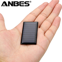 ANBES Mini 0.15W 5V Solar Panel Power Panel System DIY Battery Cell Charger Module Portable Panneau Solaire Energy Board 53*30mm