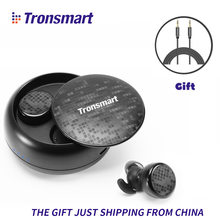 Tronsmart TWS Bluetooth Earphones Wireless Headset True Wireless Stereo Earbuds IPX5 Waterproof with Mic for IOS Android Phones(China)