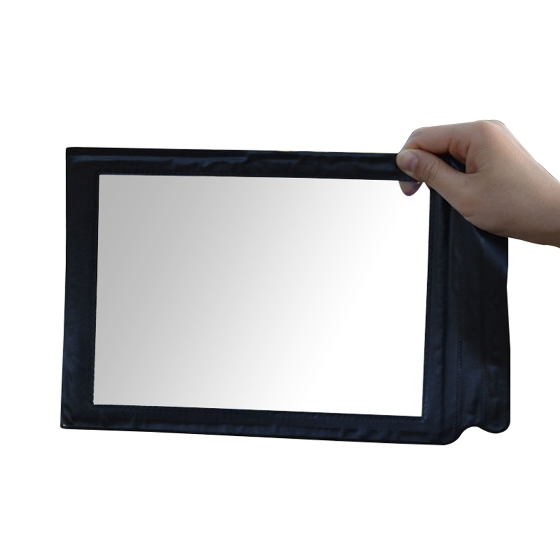 NFLC-A4 Full Page 3x Magnifier Sheet Large Magnifying Glass Book Reading Aid Lens 3x a4 full page large giant hands free desk foldable magnifying glass magnifier for reading sewing knitting with 4 led lights
