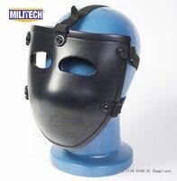 MILITECH баллистическая маска пуленепробиваемый козырек NIJ level IIIA 3A арамидная пуленепробиваемая тактическая маска NIJ Номинальная баллистическ