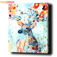 Diy Digital Pictures Canvas Oil Painting By Numbers Frameless Acrylic Painting Coloring By Numbers Modern Paint