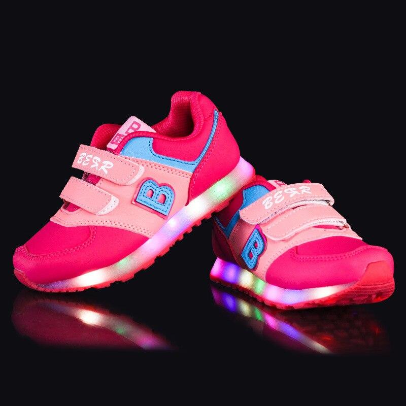 Top chaussure avec lumiere pour garcon,enfant chaussures pour garcon  JV62