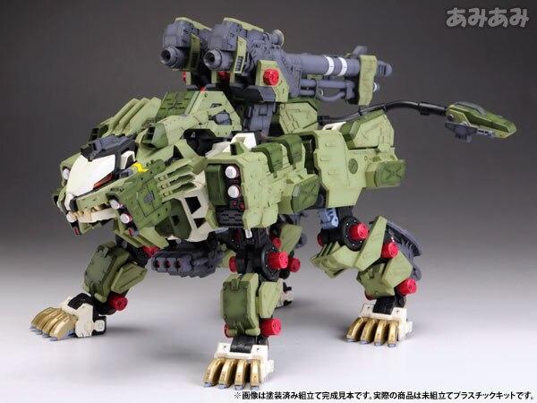 Image 2 - Bt 1/72 zoids liger zero panzer gundam montado modelo anime figura de ação aniversário presente natalaction figureanime action figureassembly model -