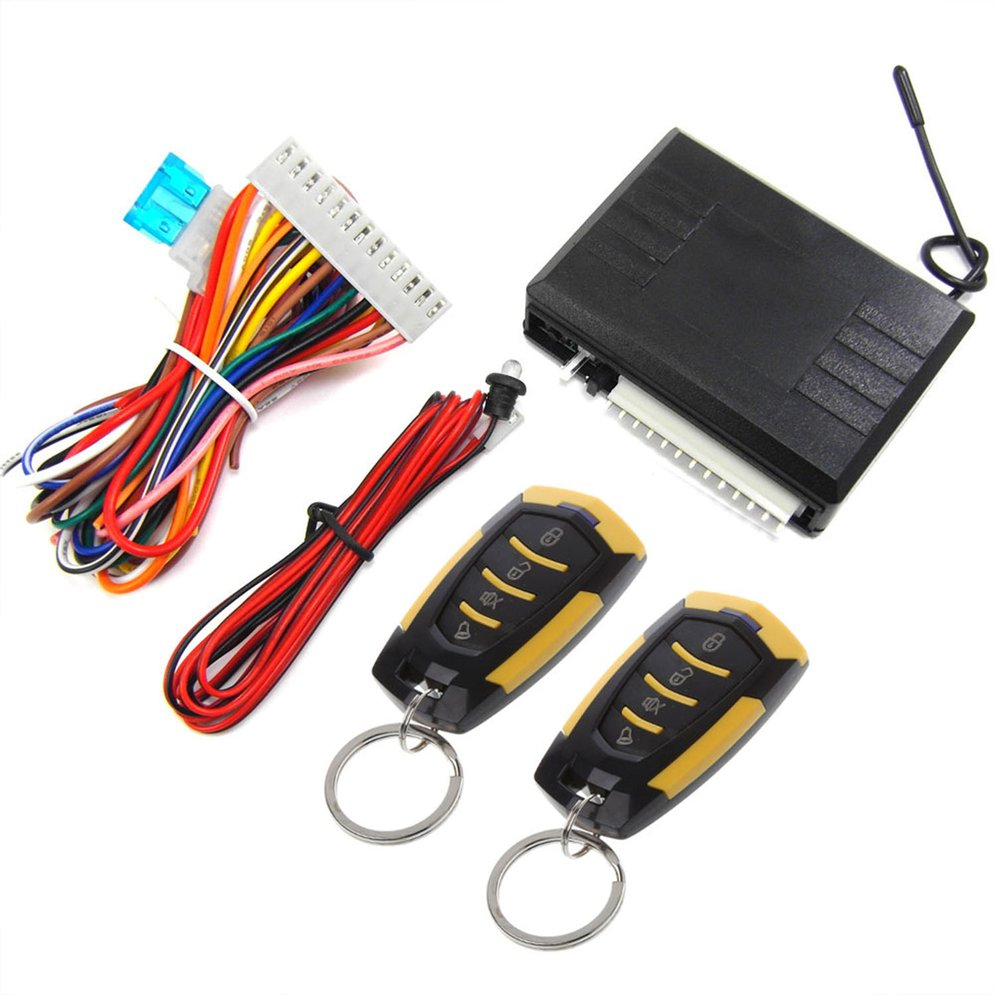 M616-8182 Car Remote Control Central Lock Alarm Device With Motor System