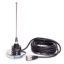 Abbree NC 450MU NMO UHF 400 520MHZ Magnetic Mount with 18cm Antenna For QYT KT 7900D 8900D Baojie BJ 218 318 Car Mobile Radio