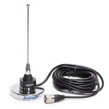 Abbree NC 450MU nmo uhf 400 520mhz 18 センチメートルと磁気マウントアンテナためqyt KT 7900D 8900D baojie BJ 218 318 車移動無線