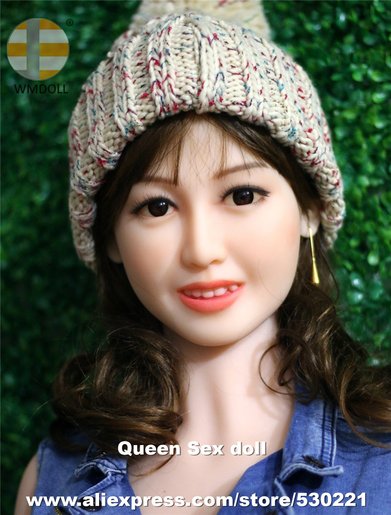 WMDOLL Top Quality Real Doll Head With Tooth For Silicone Sexy Dolls Japanese Love Dolls Heads For Oral Sex top quality oral sex doll head for japanese realistic dolls realdoll heads adult sex toys