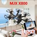 X800 MJX RC mini Helicóptero quadcopter 2.4G 6-Axis Drone dron Puede añadir c4005 fpv cámara wifi blanco negro vs jjrc h20 cx20