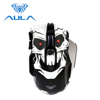 AULA Usb Wired Gaming Mouse 8200 DPI ergonomic rgb Computer Accessories For laptop PC Gamer mouse LOL PUBG #SI9006