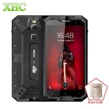 "HOMTOM ZOJI Z8 IP68 Waterproof Smartphone 4GB+64GB 5.0"" Android 7.0 MTK6750 Octa Dual SIM 4G Cellphone Fingerprint ID OTG OTA"