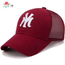2018 Men and Women Caps Hats Summer Letter Embroidery Male Baseball Cap  Mesh Quick-drying Men s Cap Dad Hat Female Mesh Hat 30eab1263d6f
