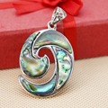 28*37mm Women Natural colourful Abalone seashells pendants Hot sale Fashion Series words jewelry design Retail and wholesale
